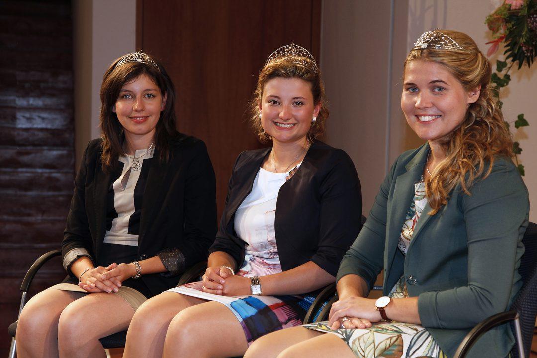 Magdalena Malin (Mitte) Katharina Dier (links) und Nicole End (rechts).